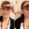 Как подстричь челку (косую и прямую)