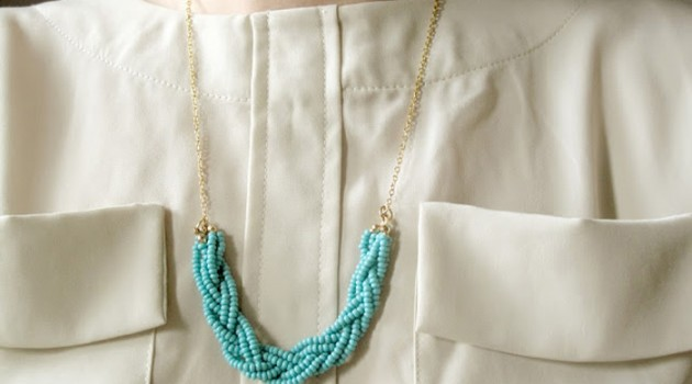 Ожерелье из бисера своими руками