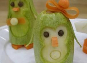 Поделки из овощей и фруктов своими руками