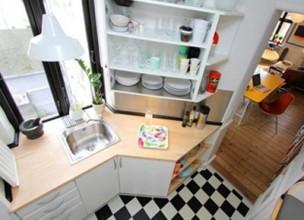 Интерьер кухни 6 кв. м