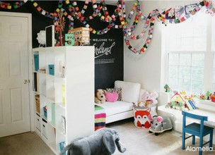 Интерьер детской комнаты своими руками