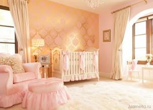 Обои для детской комнаты для девочки