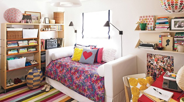 Подростковая комната для девочки