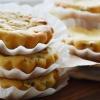 Творожно-банановые кексы с киви, рецепт