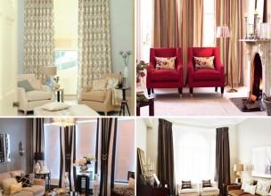 Как выбрать шторы, которые украсят и гармонизируют интерьер