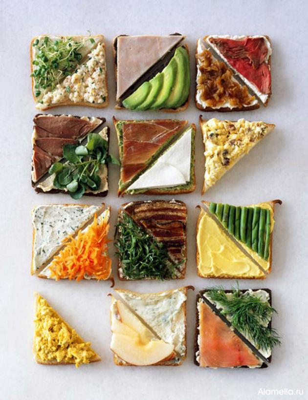 рецепт бутербродов в бутерброднице