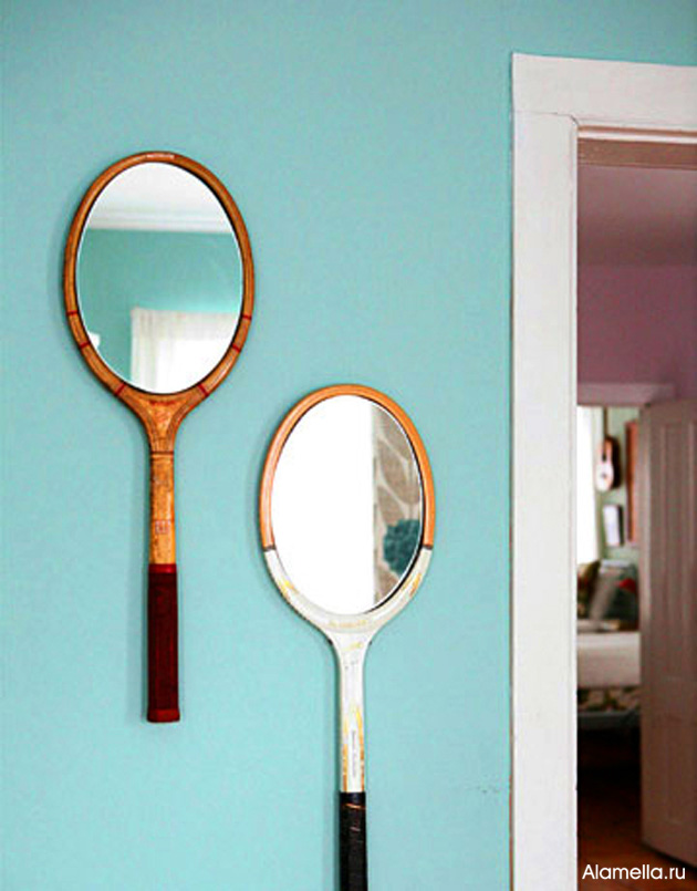 Зеркало для дома своими руками