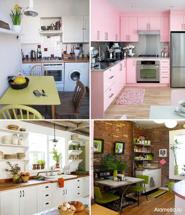 Как сделать уютную кухню 6 кв