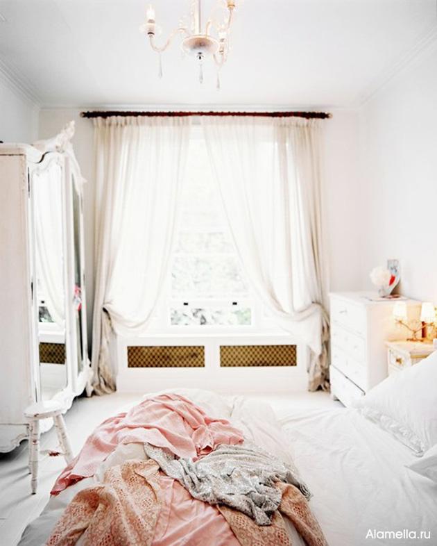 Балдахин над кроватью своим руками