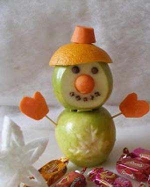 Как сделать поделку из фруктов своими руками