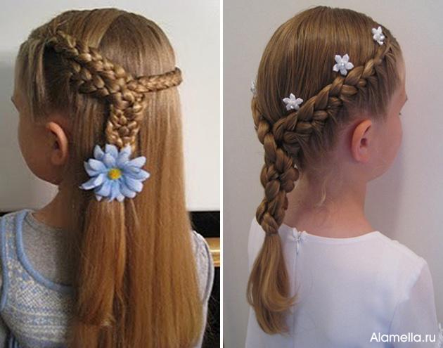 Прически С Заколками Для Длинных Волос Фото