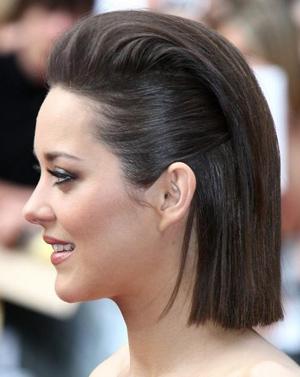 Прическа строгая для коротких волос