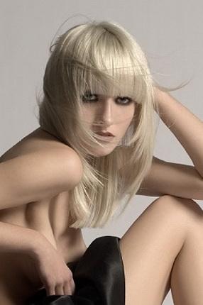 Стрижки на длинные волосы с короткой макушкой 108