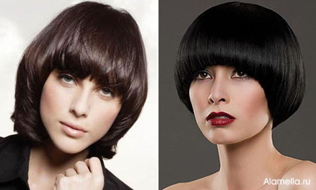 Женские классические стрижки на средние волосы