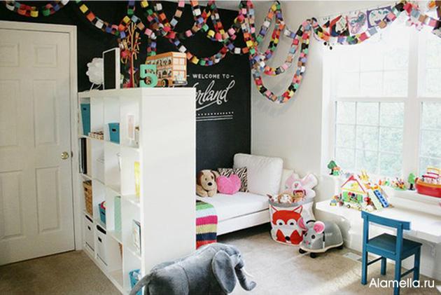 Интерьер детской комнаты своими руками 523