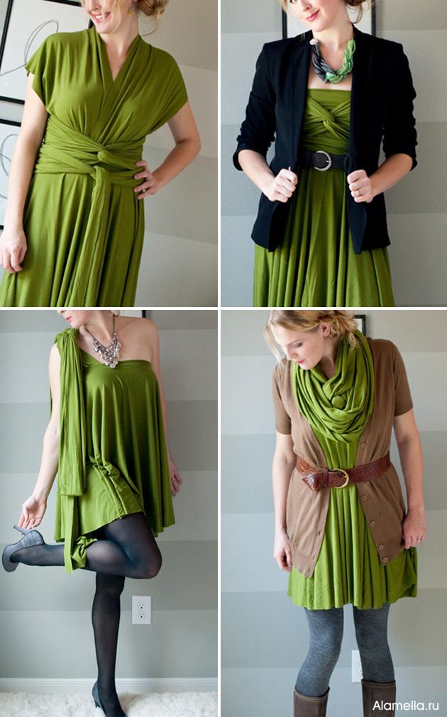 Даем более упрощенный вариант платья