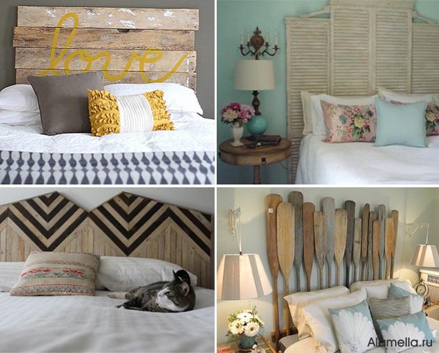 Как сделать декор кровати 73