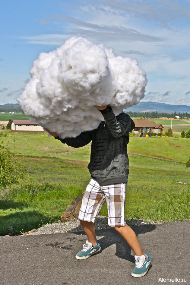 Как создать макет облака