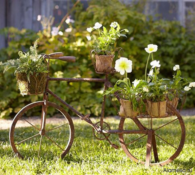 Дизайн сада своими руками декор