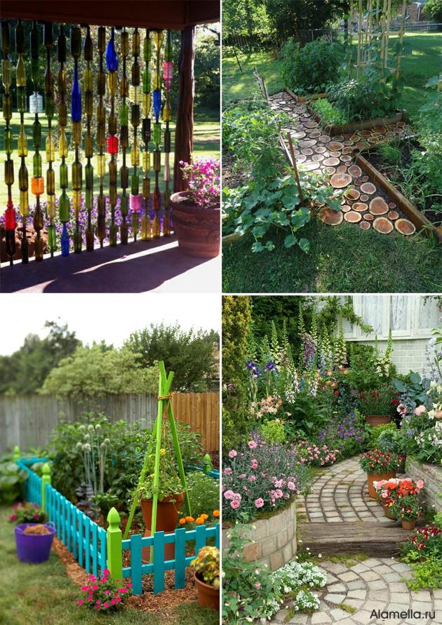 Дизайн сада своими руками фото и идеи