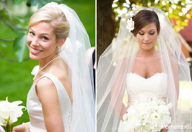 Когда вы выбираете свадебную прическу