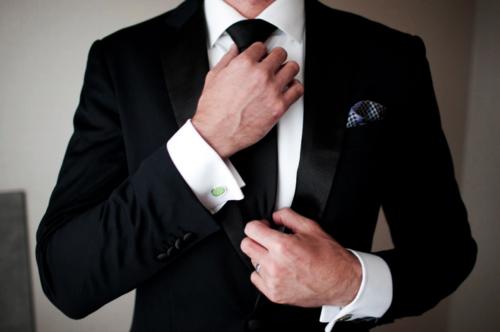 как носить запонки